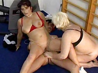 cougar gym group sex