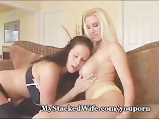 large titted dikes strap it on!