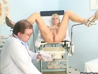 horny cougar patient playing her light red part6