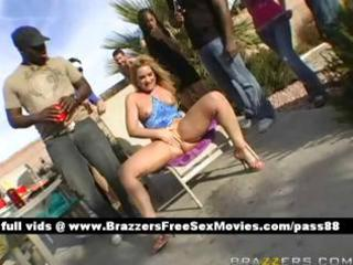 cougar albino bitch at a celebration obtains a