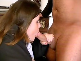 chubby brunette mature angel likes licking part5