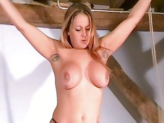 merciless breast tortures of naughty mature babe