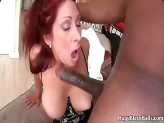 naughty milf worships taking a huge black part5