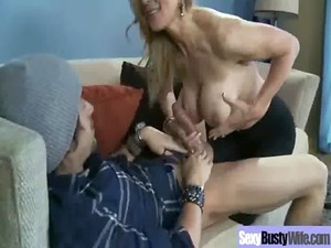 hot extremely impressive bigtits milf own bang