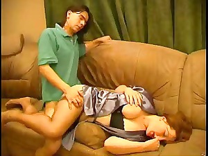 russian cougar chick and boy