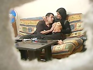 amateur turkish woman with russian man during