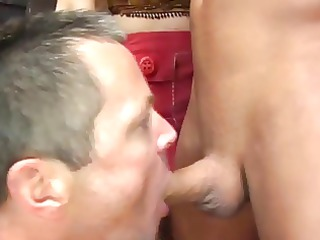 woman makes them lick libidos