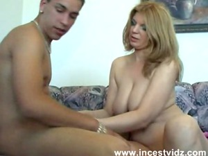 skinny hungry mommy opens up for the shaft of her