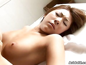 beautiful momose drilled with mad cumshot!