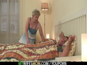 she bangs her son into law as he sleeps