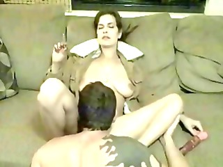 piercing smoking cheating housewife and pleasing