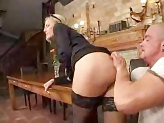 cougar lady make an anal