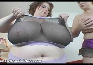 two large boob bbw wives takes on a big dick
