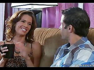cougar giant breast mother lady wife cheating
