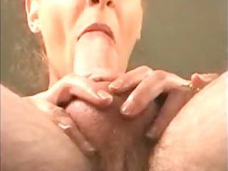 close up point of view blowjob milf cim facial