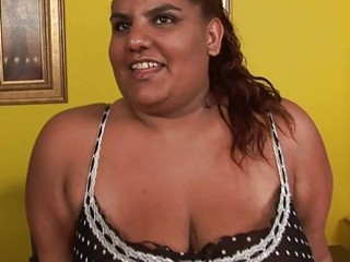 mature fat ebony momma sticks large vibrator up