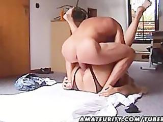 plump and naughty young lady fucks with handjob
