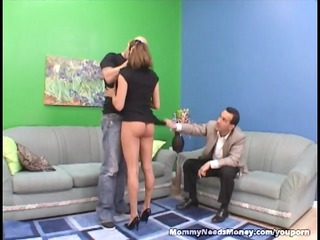 extremely impressive mommy gangbangs on cam for