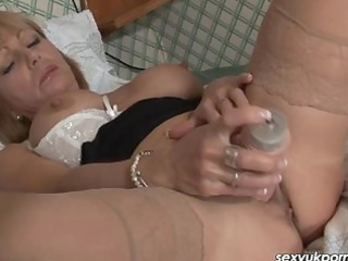 mature european adult movie star plays