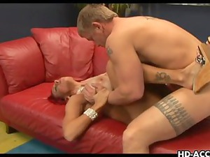 cougar woman with big tits unmerciful banging