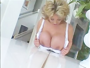 extremely impressive asian milf with huge breast