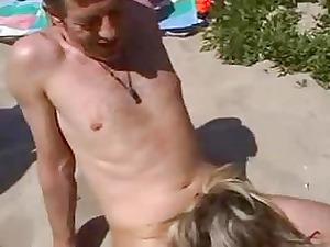 banging fresh maiden on the beach