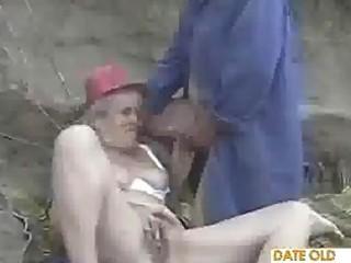 granny grownup duo enjoy it public
