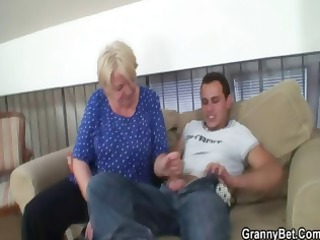 chubby cougar fucked by fresh male