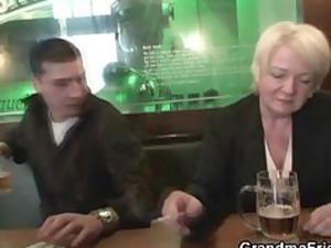 totally naughty old takes two cocks