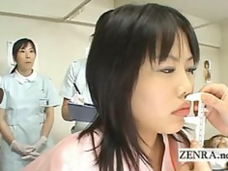 japan milf medic uses vibrator with camera for
