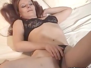 woman brief fresh dildoing exgf solo lady fisting