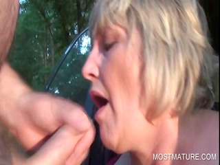 naughty mature oral drilling libido