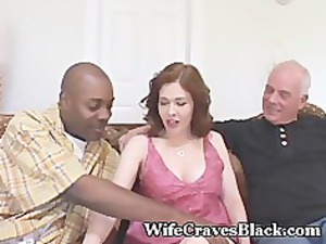 busty housewife bangs black for hubby