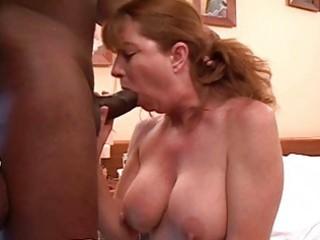 hot ginger milf getsh her shaved putz rammed