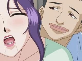 naughty horny anime woman obtains tasted her