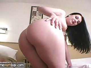 beautiful fresh brunette woman jerking libido 1