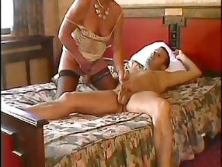 beautiful woman n90 brunette grownup on a bed