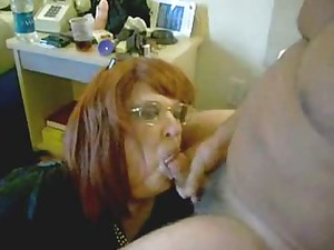 pervert housewife drinking my cum. home video