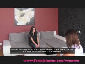 femaleagent. shy loveliness obtains the bait.