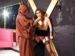 bondage grownup slave into beat