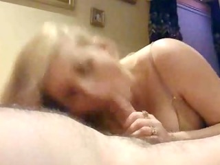 pale lady licks dick w/ passion