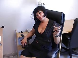 mature babe secretary part 3
