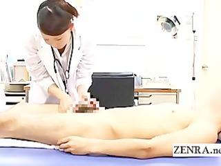 cfnm japanese woman nurse bathes patients uneasy