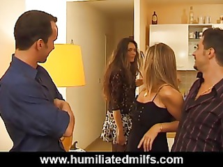 stuck up milf takes a unmerciful double