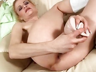 older  blonde gangbangs dildo