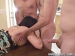 my housewife takes gangbanged
