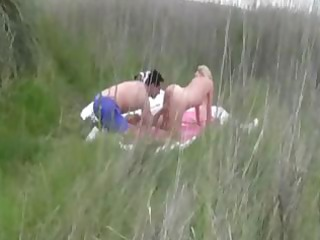 albino wife gangbanged on the shore