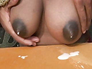 pregnant indian mommy squeezing inexperienced milk