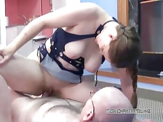 cougar amp natasha taking gang-banged