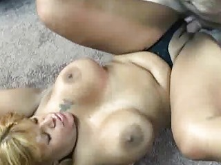 latin chick taking drilled inside her older  pussy